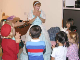 """Orlando, FL 2003:  Festive six- and seven-year olds should be able to worry more about what Cinderella has to say than about who lurks about behind them.  """"America in Knots"""" remains but a spiritual revelation that requires an authentically spiritual awakening."""