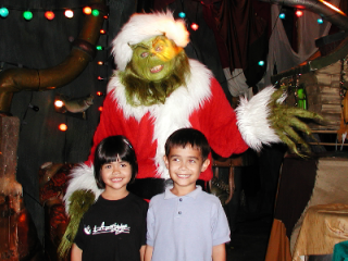 Orlando, FL 2001:  Not all wishes are the same.  For some, standing toe-to-toe with the Grinch and surviving brings cause for celebration.  For others, keeping such days viable has become the need of the hour.